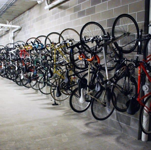 Garage Industrial Bicycle Storage Ideas