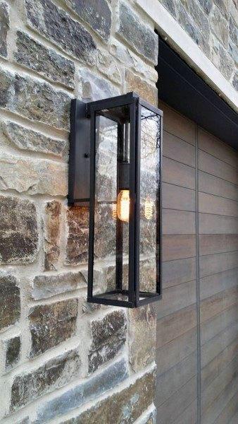 50 outdoor garage lighting ideas exterior illumination designs garage outdoor lighting fixtures mozeypictures Images
