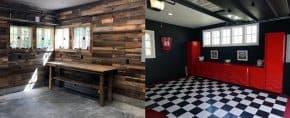 Top 70 Best Garage Wall Ideas – Masculine Interior Designs