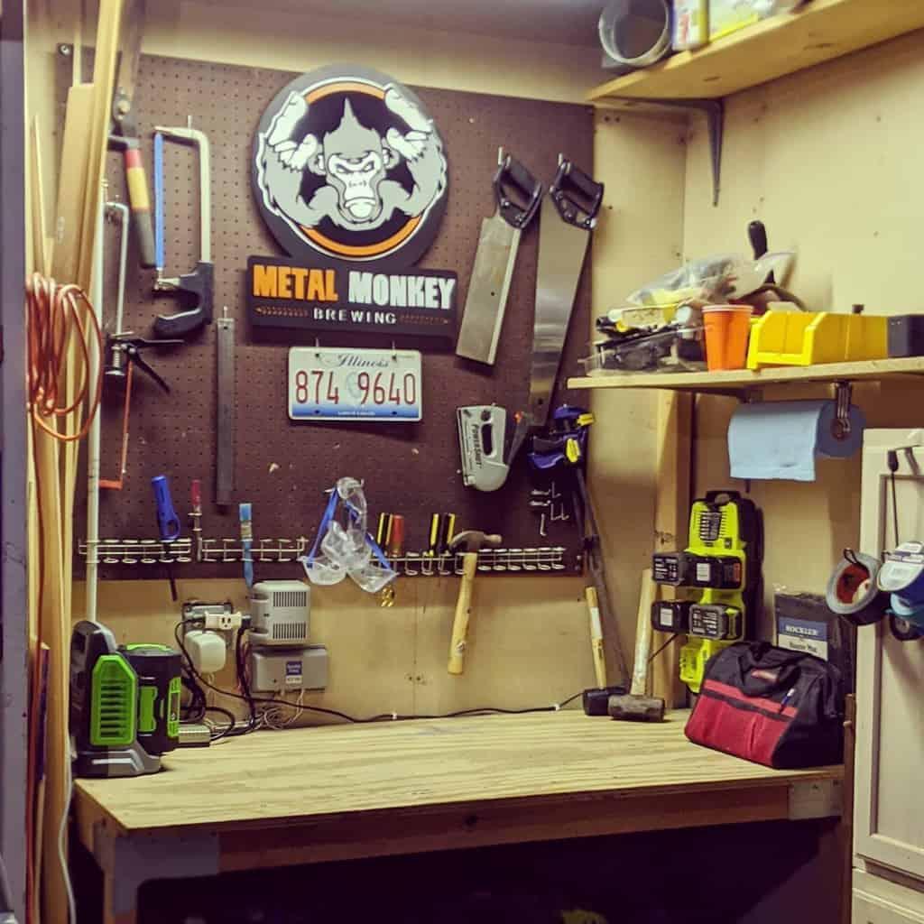garage work bench ideas wheatleydesign
