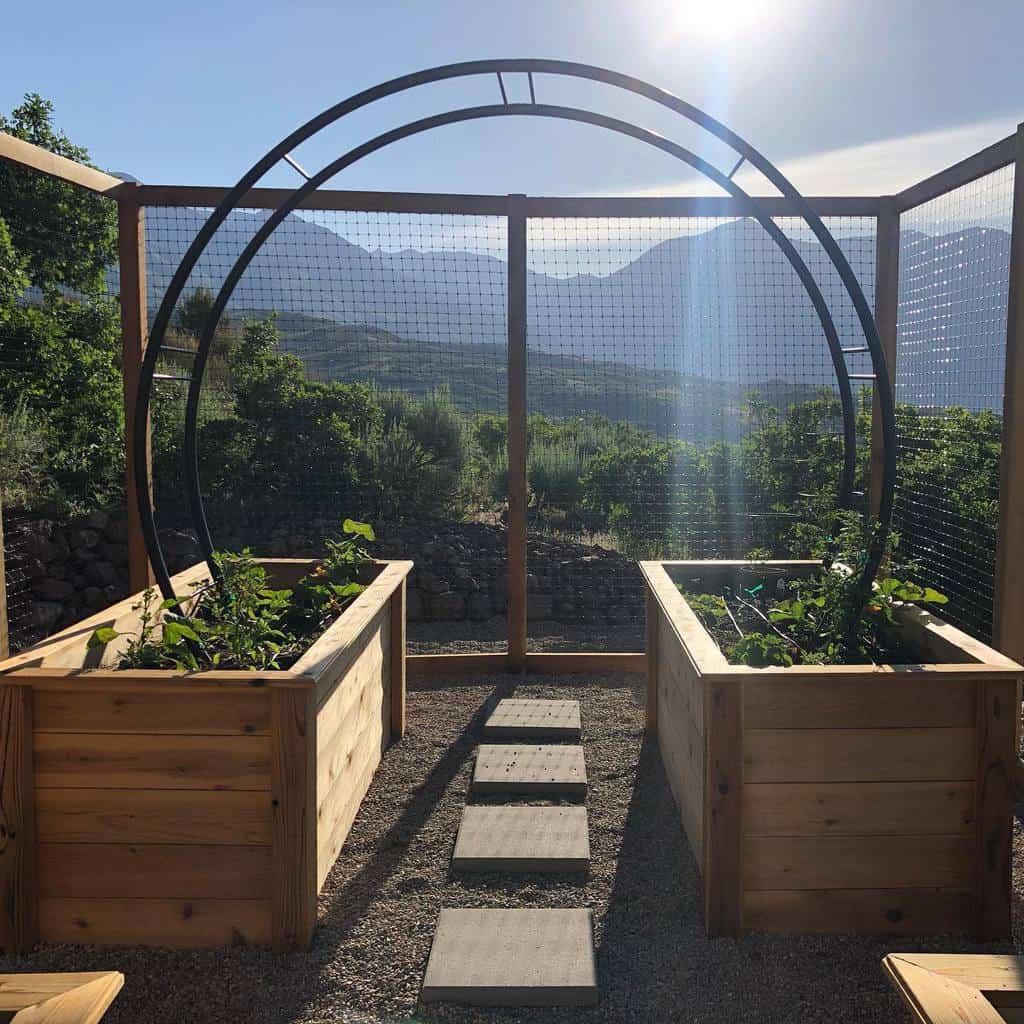 garden arch garden trellis ideas notedsimply