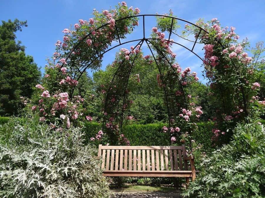 garden arch pergola gazebo 1 Garden Decor Ideas