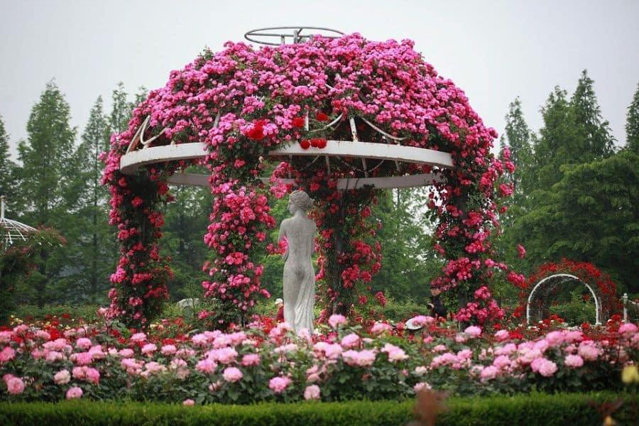 garden arch pergola gazebo 2 Garden Decor Ideas