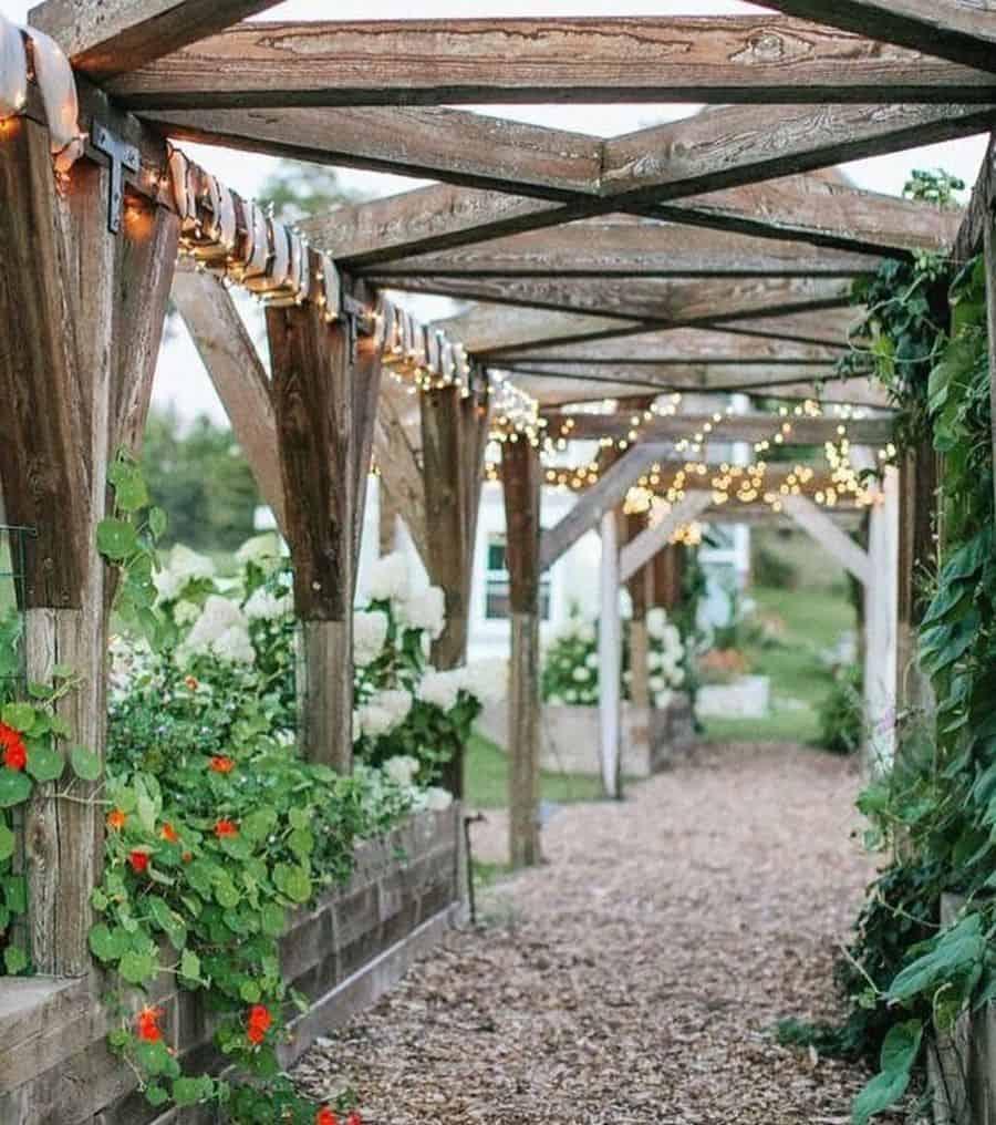 garden arch pergola gazebo garden decor ideas gardengablesdoorcounty
