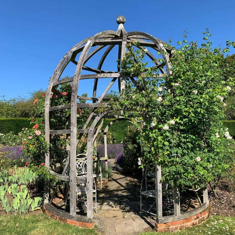 garden arch pergola gazebo garden decor ideas ingridleenegardendesign