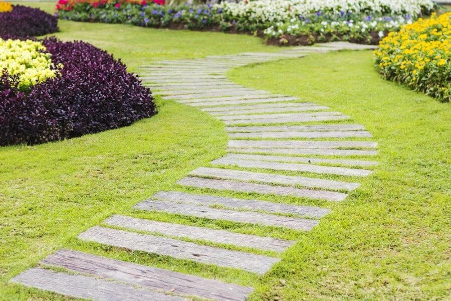 Garden Bridge Ideas For Wooden Walkway