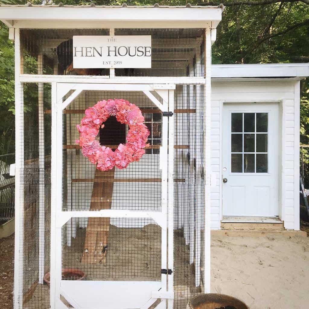 garden chicken coop ideas lifeat74