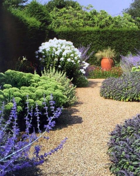 Garden Landscape Gravel Walkway Backyard Ideas