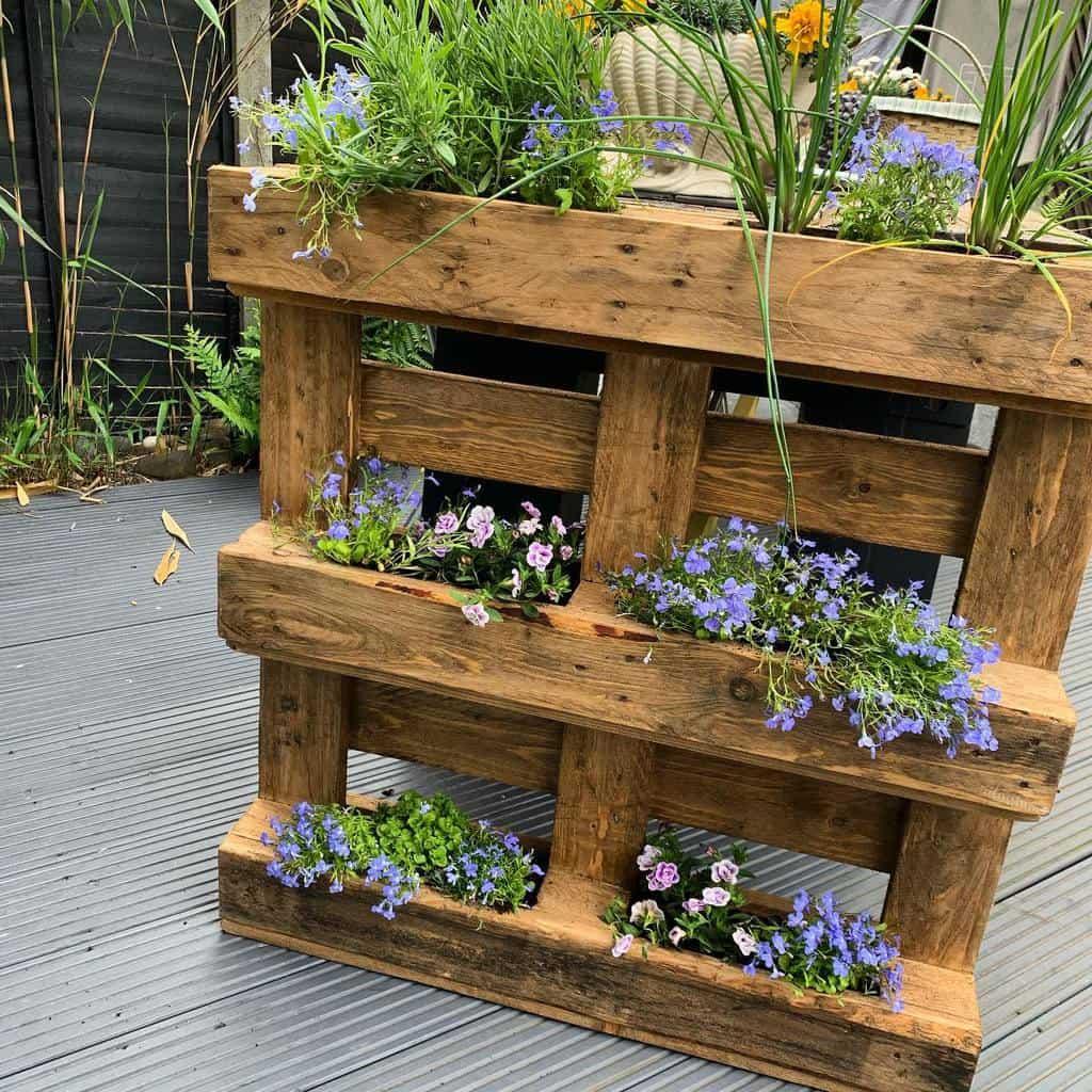 garden pallet ideas purepallets