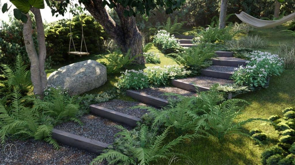 garden path shade garden ideas pracownia.sttyk
