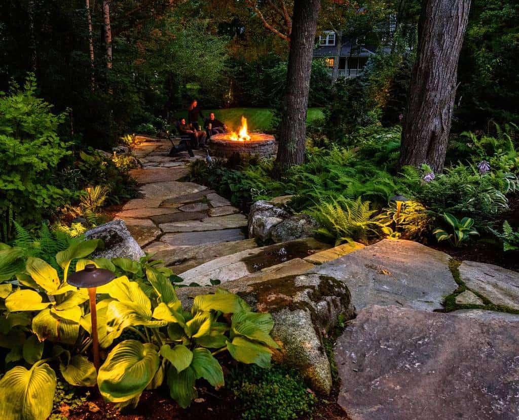 garden path shade garden ideas terrapinlandscapes