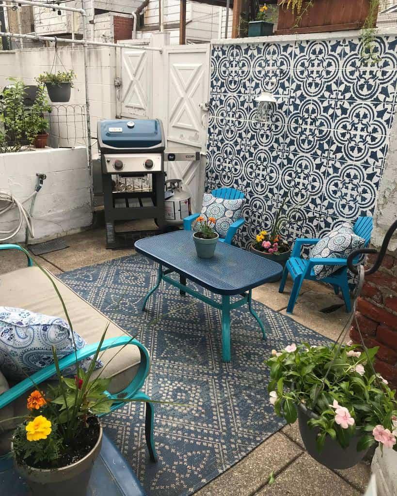 garden patio privacy ideas rubychanelcarrell