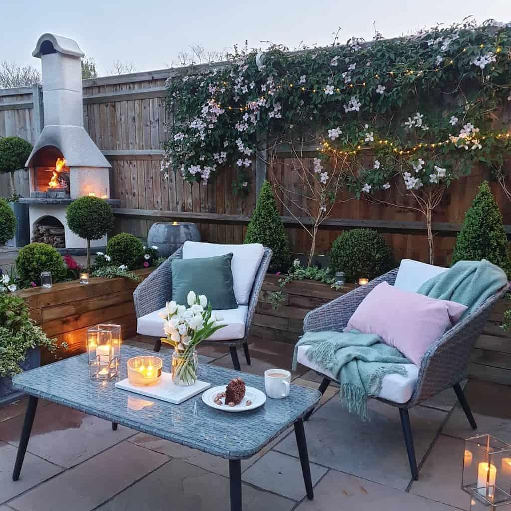 garden patio privacy ideas theonebespoke