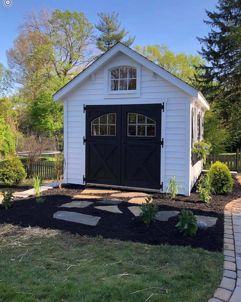 garden shed door ideas riehlstructures