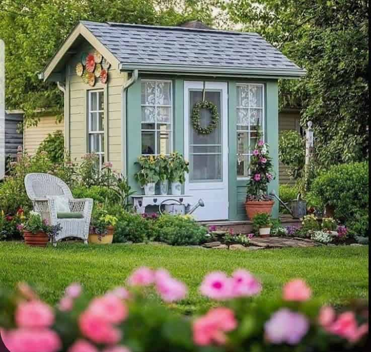 garden shed door ideas shabbylover_no1