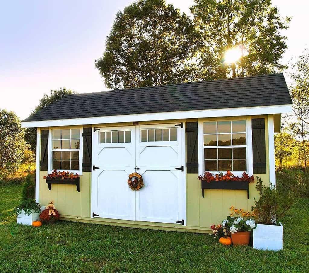 garden shed door ideas townandcountrybuildings