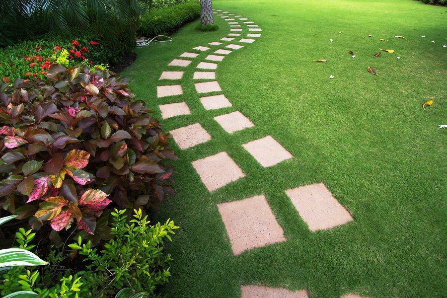 Dark Brown Composite Decking Walkway Ideas