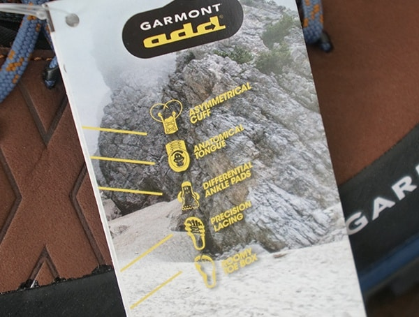 Garmont Add System Features Tag Mens Toubkal Boots