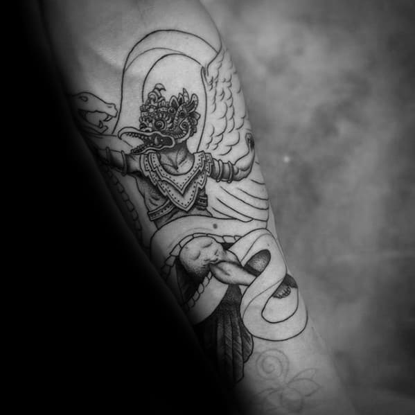 Garuda Mens Tattoo Ideas