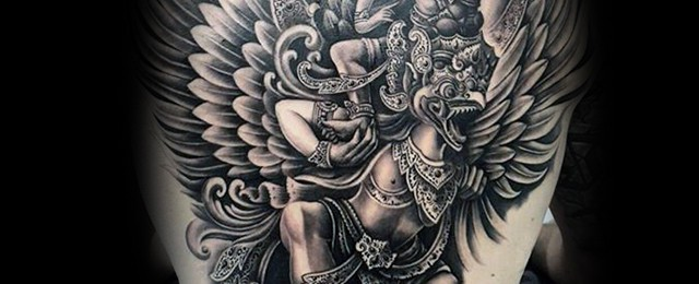 Garuda Tattoo Designs For Men
