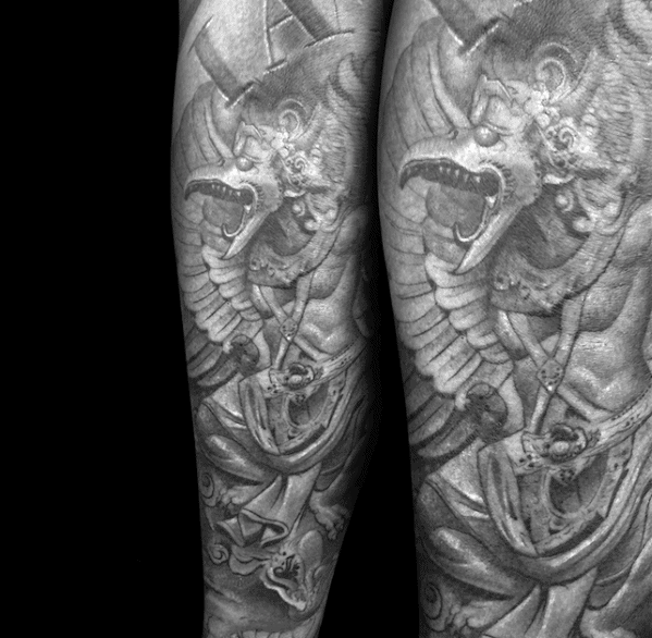 Garuda Tattoo On Men