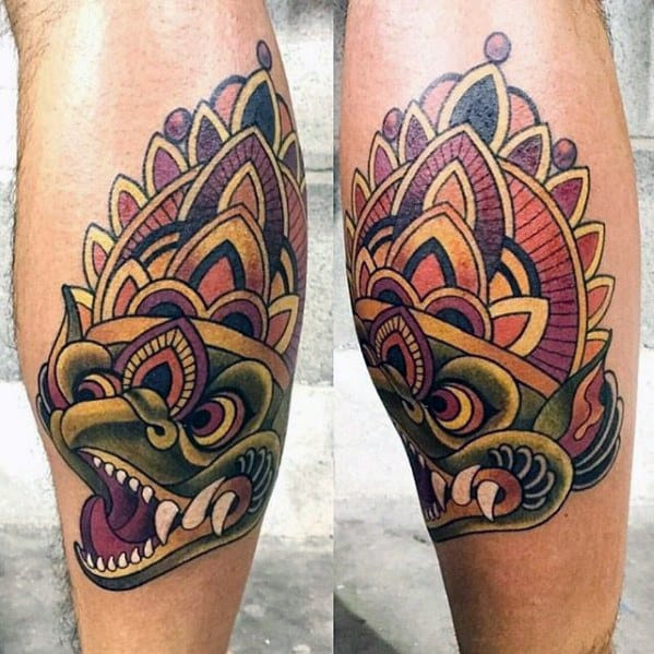 Garuda Tattoos For Gentlemen