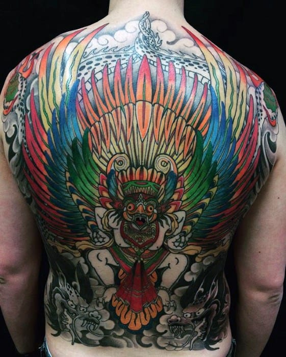 Garuda Tattoos Men