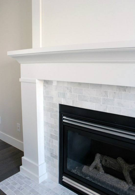 Gas Fireplace Mantel Design