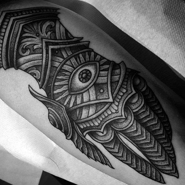 Gauntlet Mens Tattoo Ideas