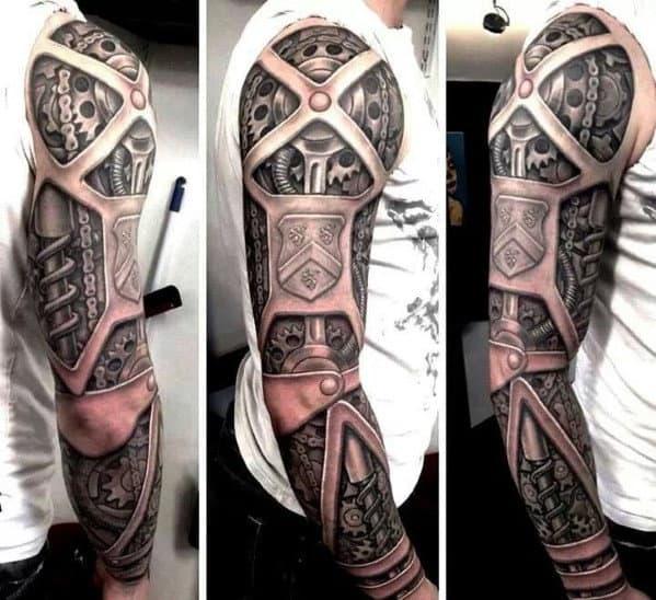 Gear Tattoo Designs