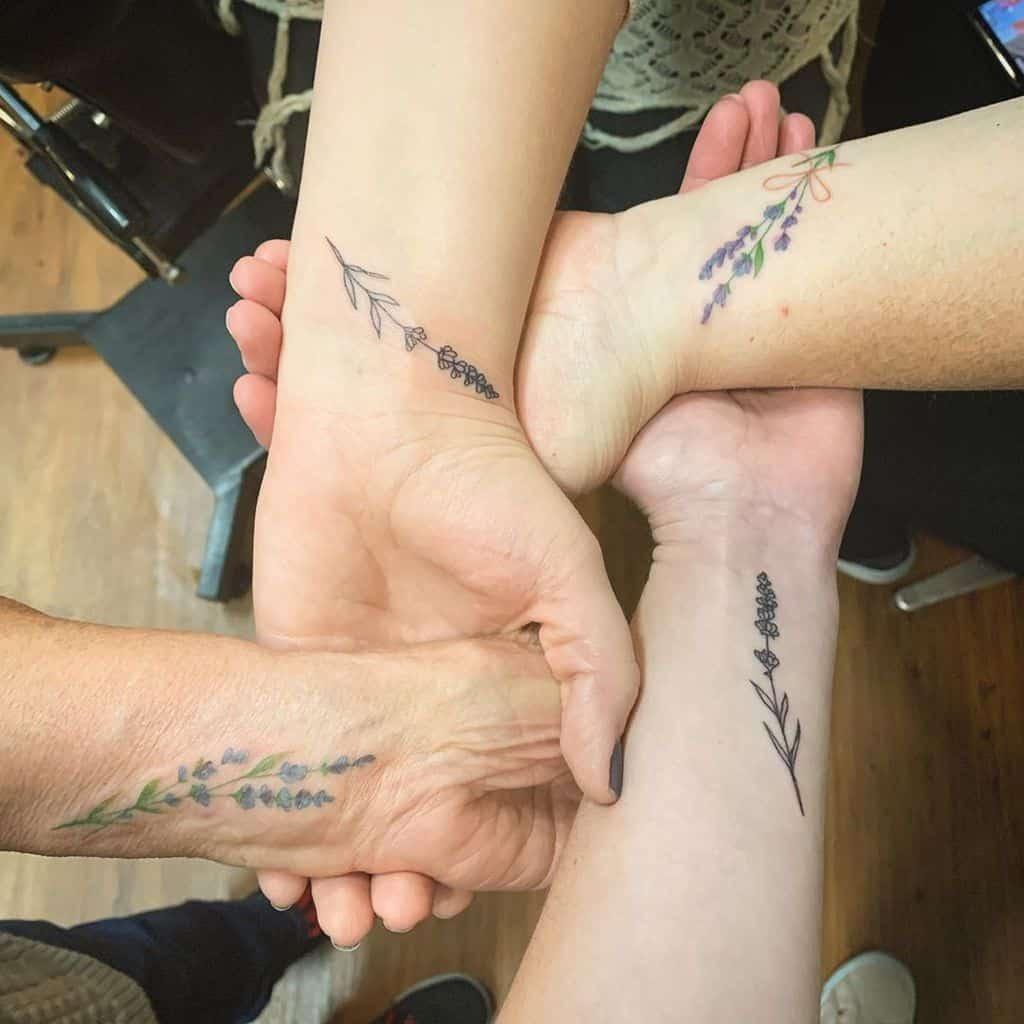 Generation Lavander Tattoo