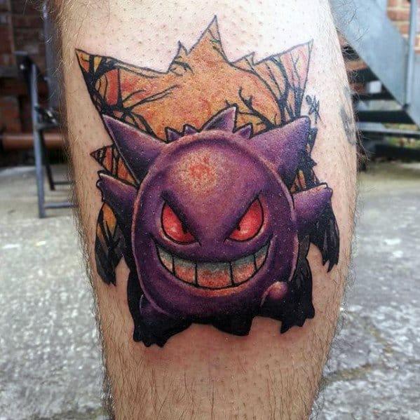Gengar Guys Tattoo Designs