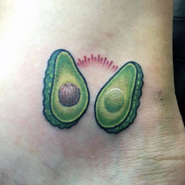 Gentleman With Avocado Tattoo