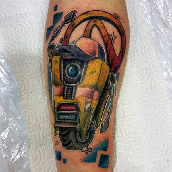 Gentleman With Borderlands Tattoo