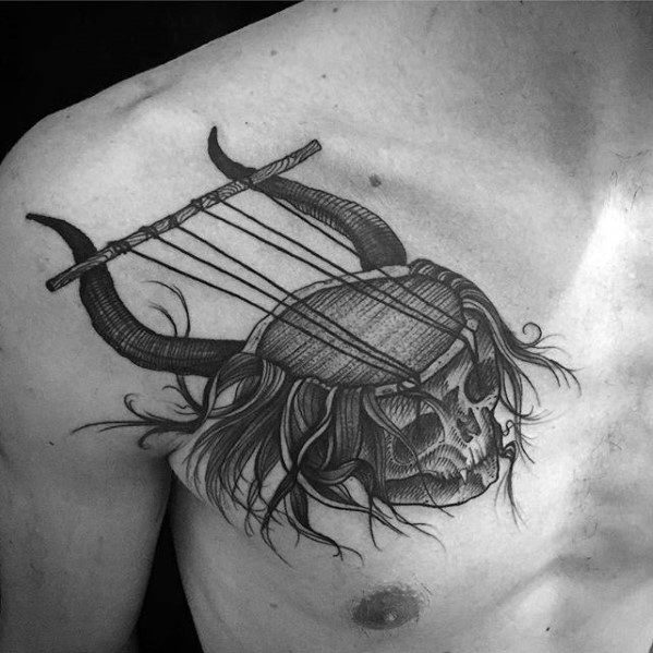 Gentleman With Esoteric Tattoo