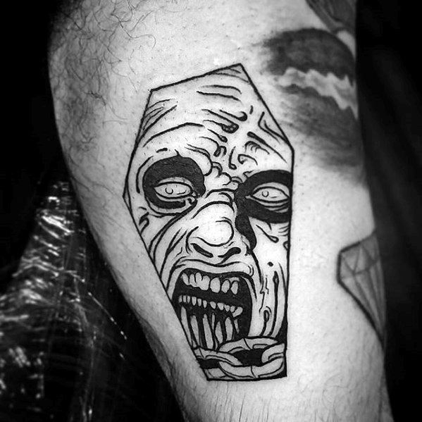 Gentleman With Evil Dead Tattoo