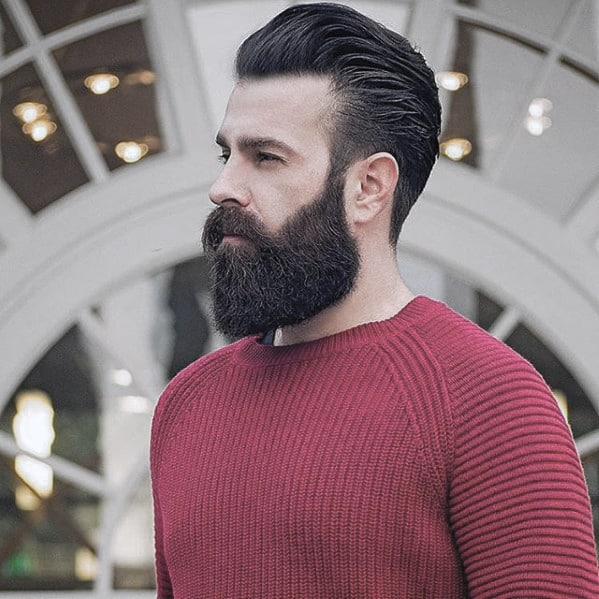 Gentleman With Great Beard Design Style