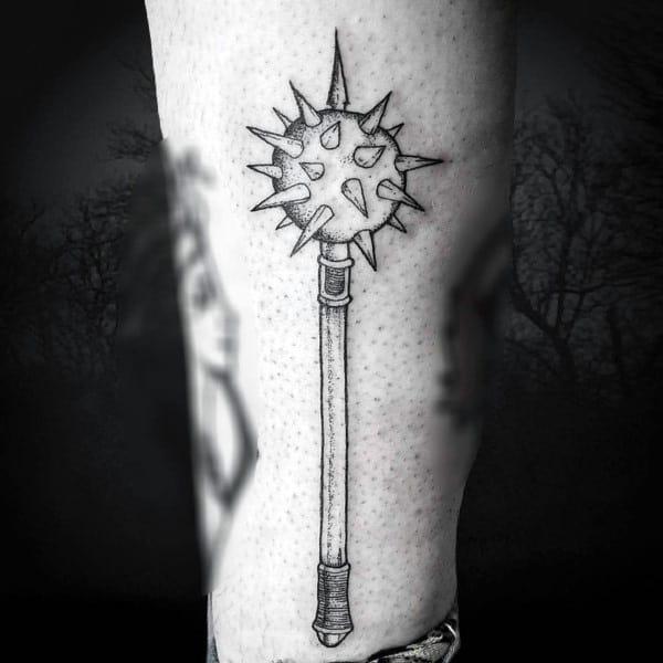 Gentleman With Mace Tattoo