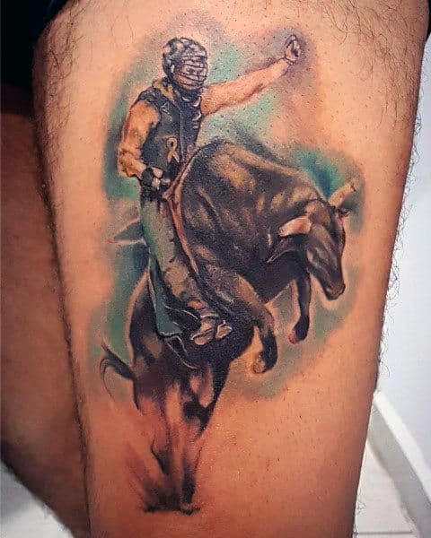 Gentleman With Rodeo Tattoo