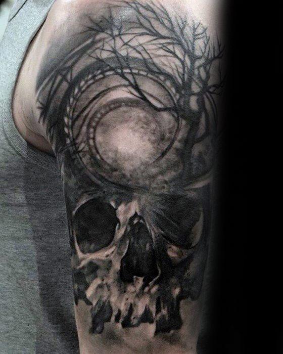 Gentleman With Roller Coaster Tattoo