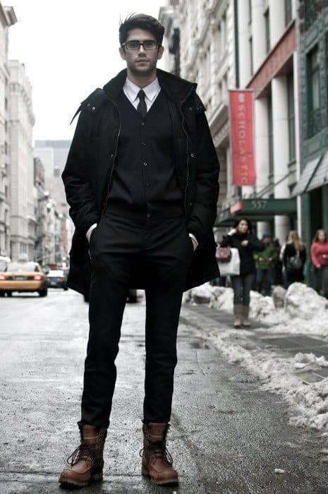 Gentleman With Sharp Boots How To Wear Outfits Business Style