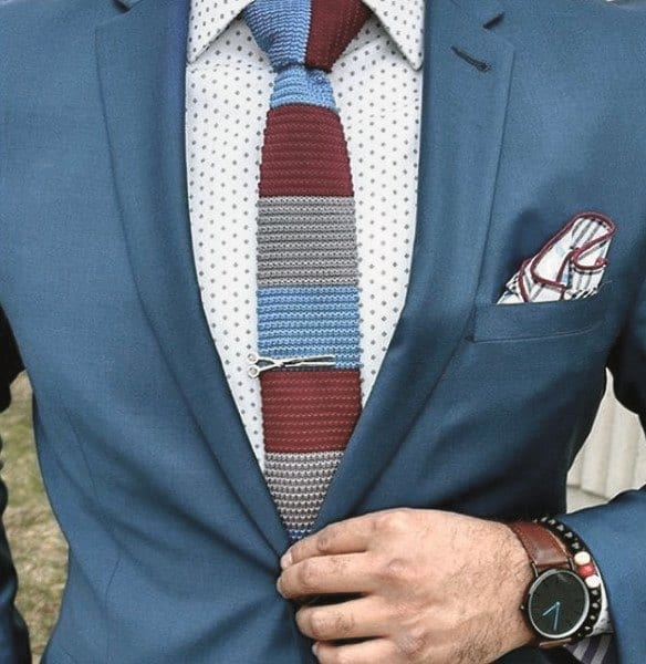 Gentleman With Sharp Trendy Outfits Style