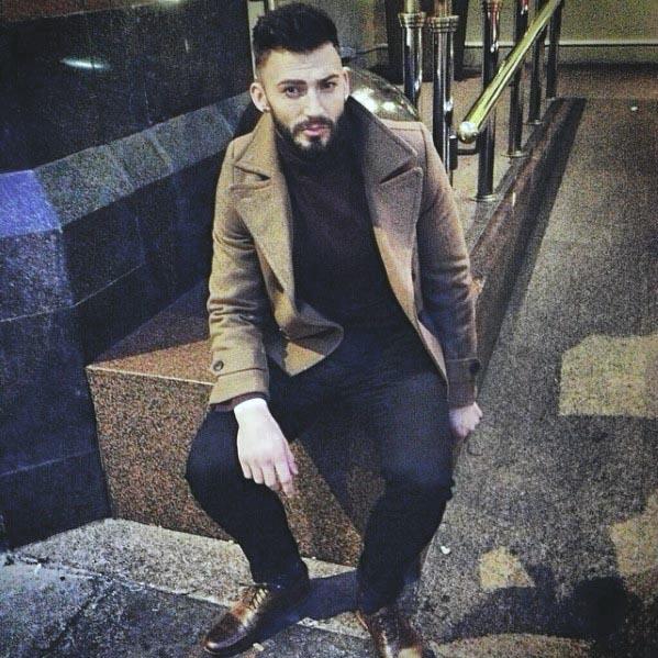 Gentleman With Short Beard Design Style
