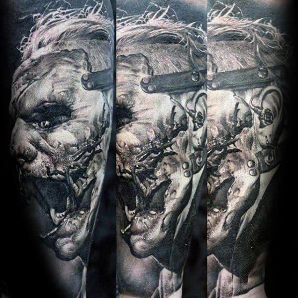 Gentleman With Slipknot Tattoo Sleeve