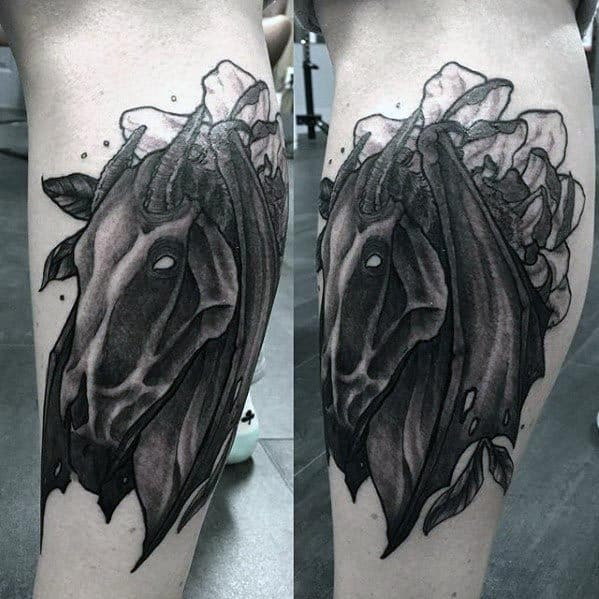 Gentleman With Thestral Tattoo