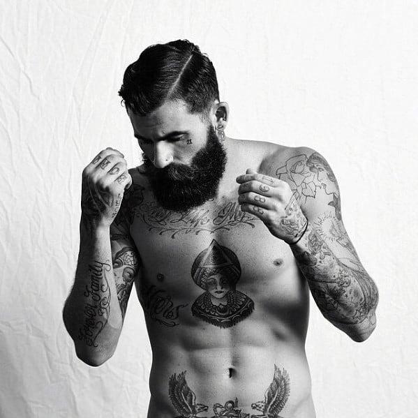 Gentlemen Manly Beard Styles