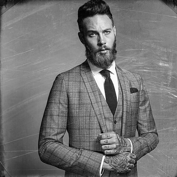 Gentlemen Medium Beard Styles