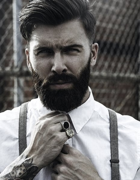 Gentlemen Nice Beard Styles