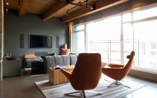 Gentlemens Bachelor Pad Living Room Ideas
