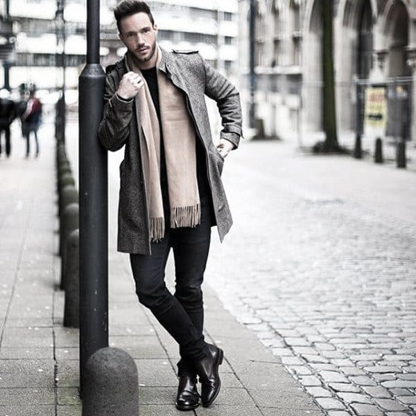 Gentlemens Casual Wear Style Ideas Winter Clothing